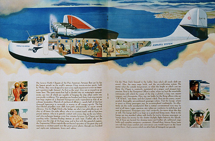The M-130 Flying Boat (1/2)