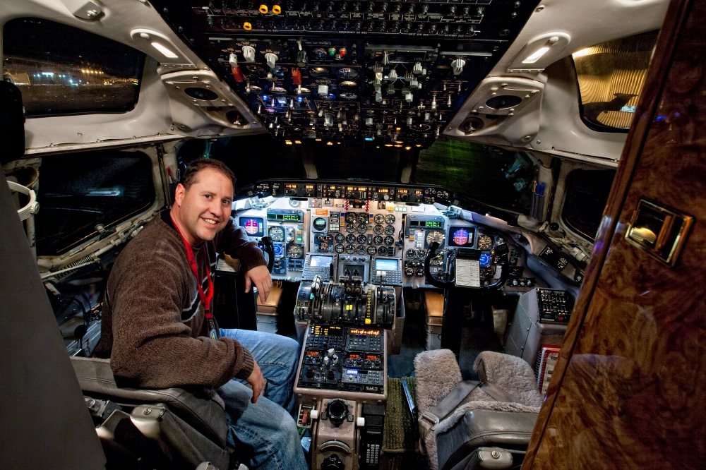 DC-9 Custom Cockpit