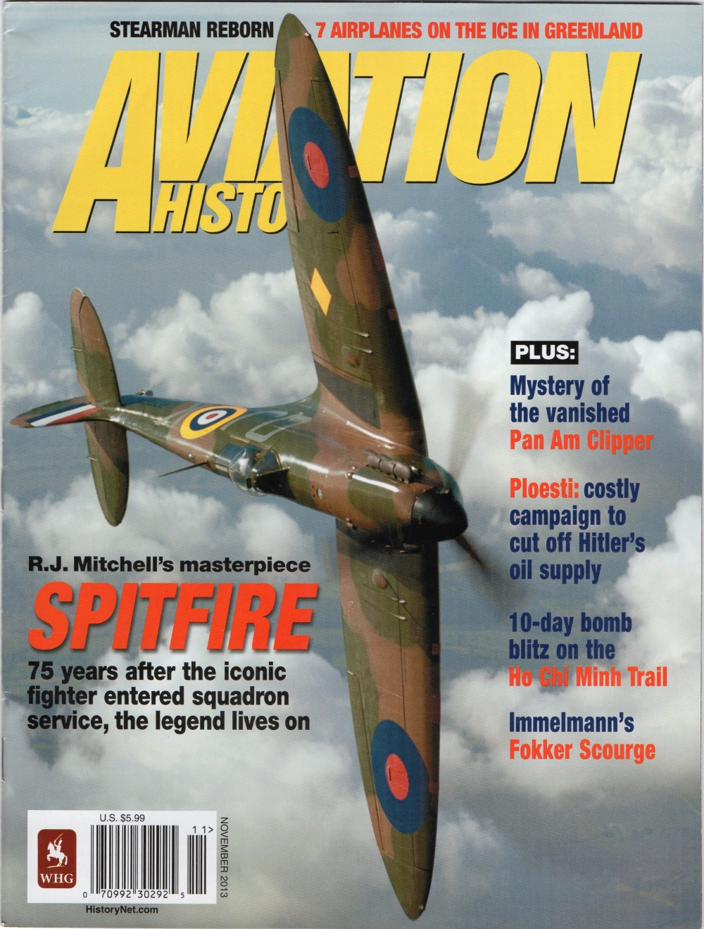 Hawaii Clipper story carried in National Magazine