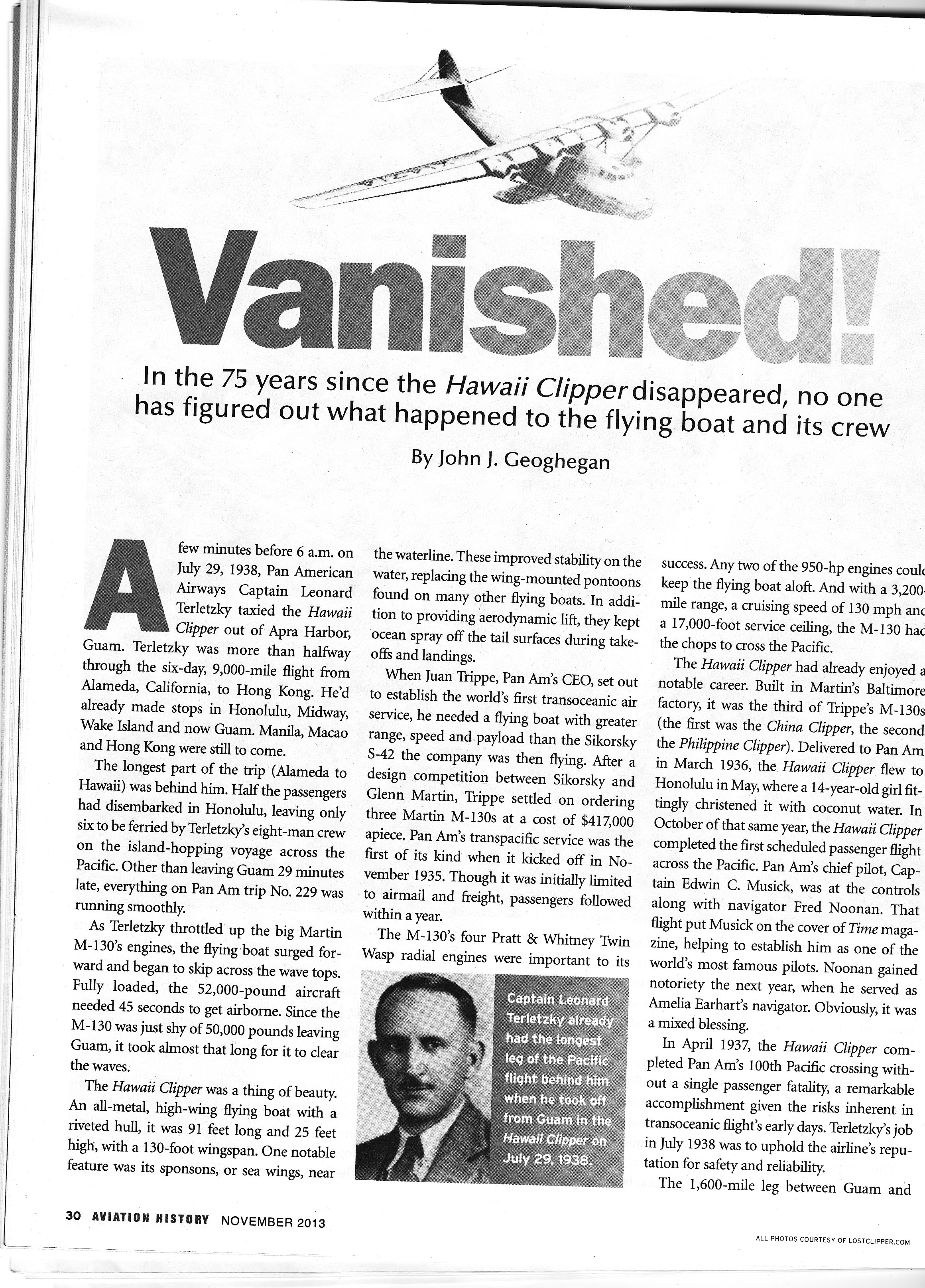 Full Article Of Aviation History Magazine