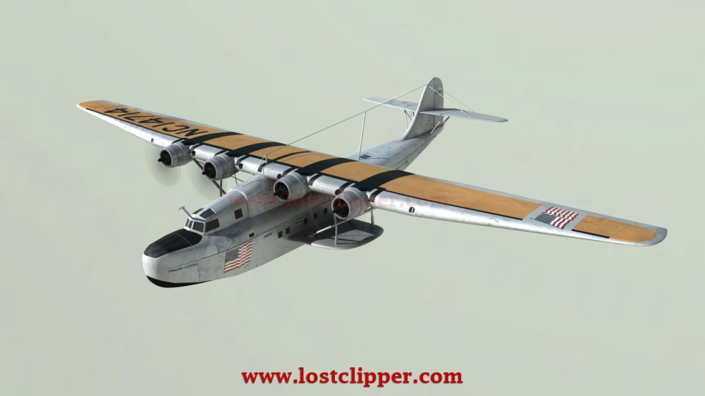 NEW 3D Animated Hawaii Clipper