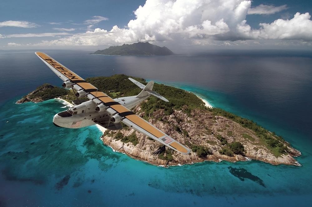 Pan Am's Hawaii Clipper in 3D
