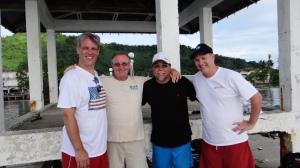 Jeff, Tony, Myron and Guy