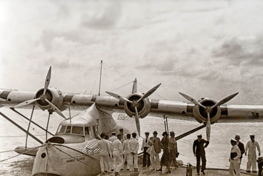 Pan Am Hawaii Clipper Comes Home.jpg