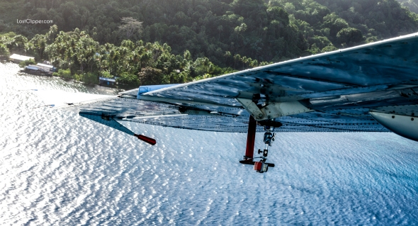 Flying above Chuuk (Truk) Lagoon in search of Imperial Japanese Navy holspital ruins