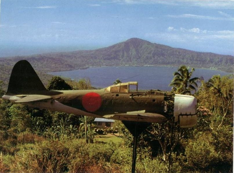 Japanese Aircraft in Papua