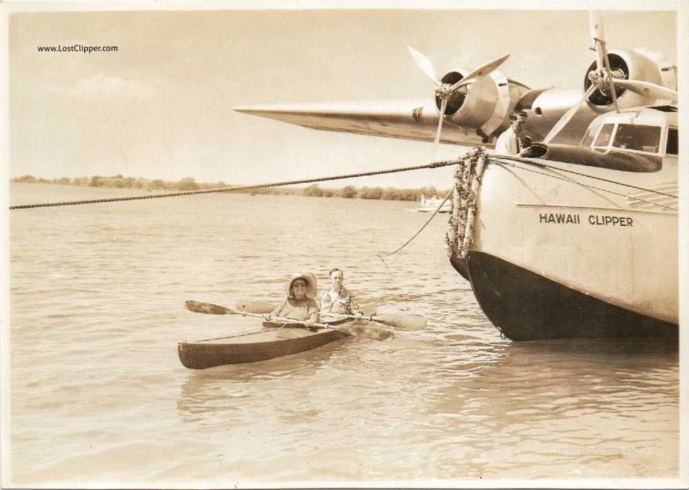 Hawaii Clipper paddle