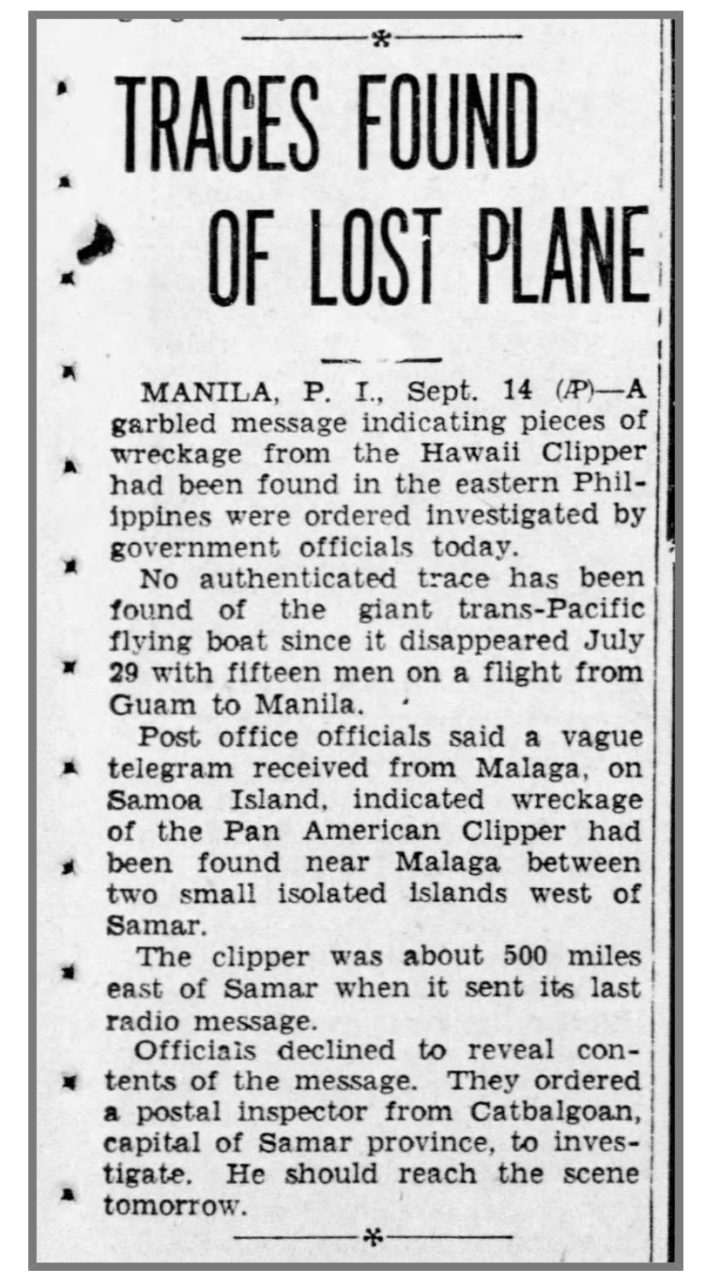 reno_gazette_14_sep_1938_traces_found_of_lost_clipper